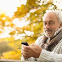 Senior Smartphone Picture